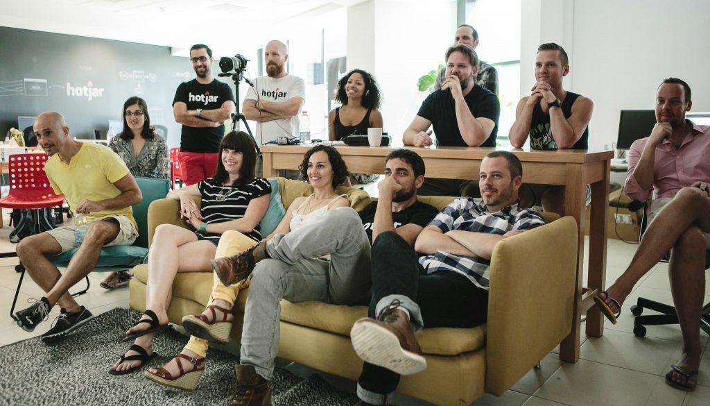 hotjar team demo